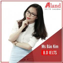 Ms Bảo Kim 8.0 IELTS