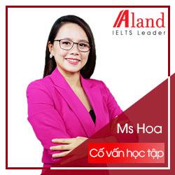 Ms Hoa - Cố Vấn Học Thuật
