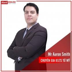 Mr Aaron Smith - Chuyên gia IELTS