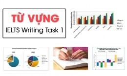 Tổng hợp từ vựng Trong IELTS Writing Task 1
