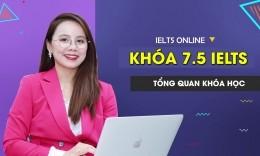 Khóa học IELTS Online Band 7.5