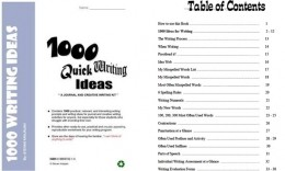 Review Chi Tiết + PDF: 1000 Quick Writing Ideas