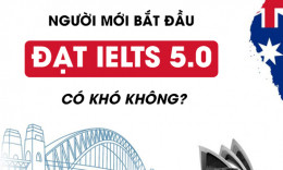 Người mới bắt đầu học IELTS 5.0 có khó không?