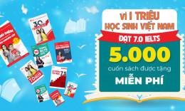 Cùng Aland Tặng Sách Vì 1 Triệu Học Sinh Việt Đạt 7.0 IELTS