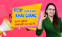 Lịch khai giảng các lớp Cambridge, IELTS Junior T2/2020 tại Hà Nội