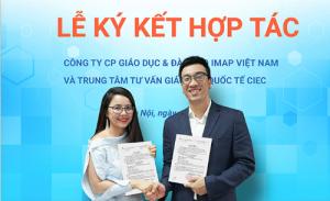 [Vnexpress] - IMAP hợp tác tư vấn du học với trung tâm thuộc Bộ Giáo dục