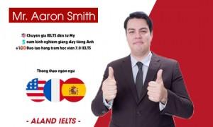 Mr Aaron Smith - Chuyên gia IELTS đến từ Mỹ