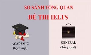So sánh sự giống và khác nhau giữa IELTS Academic và IELTS General