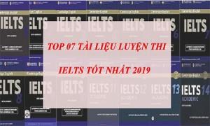 Top 7 bộ sách luyện thi IELTS tốt nhất 2019