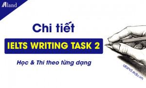 IELTS Writing Task 2: Chi tiết cách học & Thi theo từng dạng
