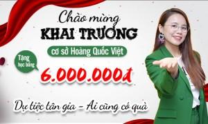 Tưng bừng khai trương Cơ sở Hoàng Quốc Việt - Aland English