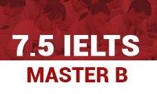 Khóa học IELTS Master B - Cam kết đầu ra 7.5