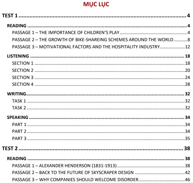 Hướng dẫn giải chi tiết bộ đề Cambridge IELTS 14 {Ebook + giải chi