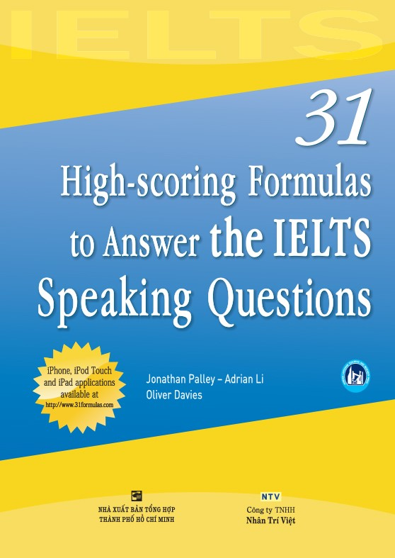 sách 31 High-scoring Formulas to Answer the IELTS Speaking Questions