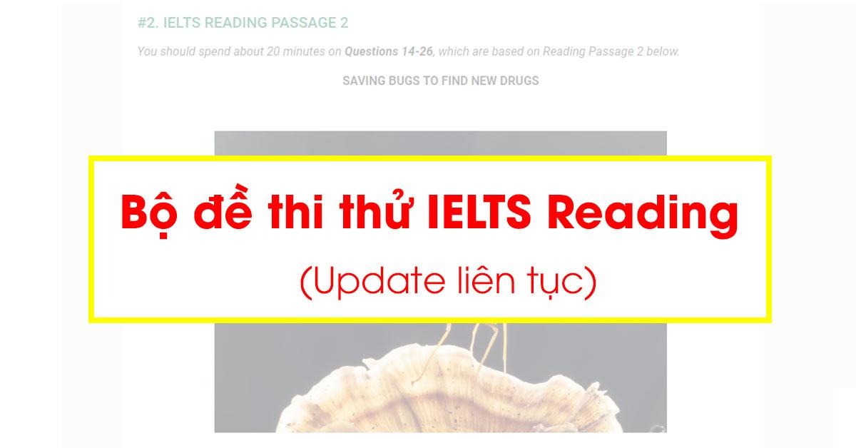 Bộ đề thi thử IELTS Reading mới nhất (Update liên tục) - Aland IELTS