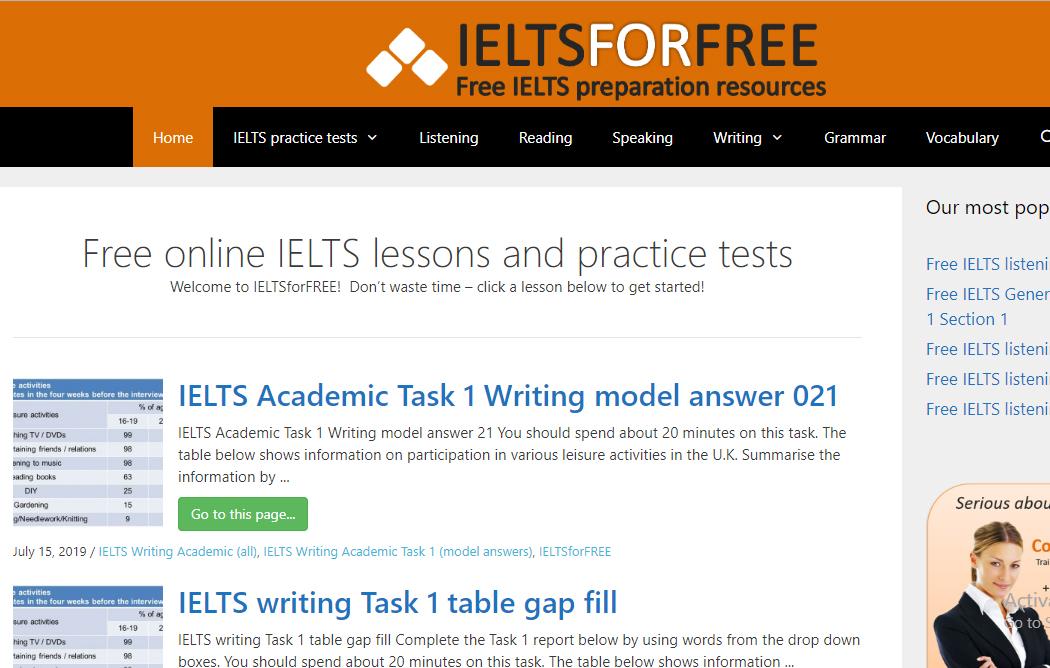 TOP 10 website học IELTS Online miễn phí tốt nhất hiện nay - Aland ...