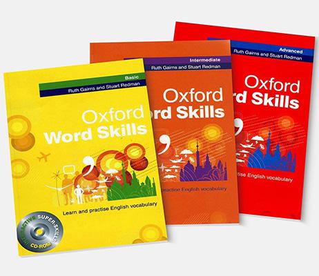 trọn bộ 3 cuốn oxford word skills