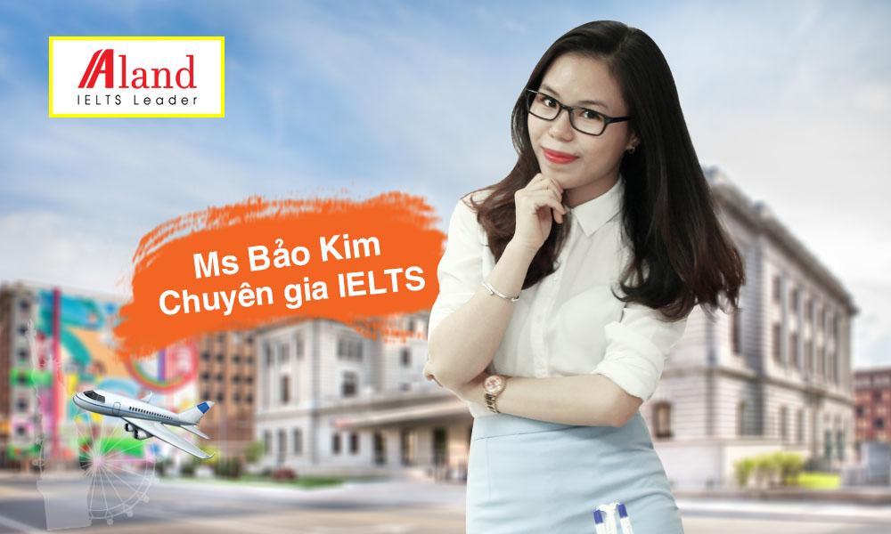 Ms Bảo Kim - Chuyên gia IELTS 8.0