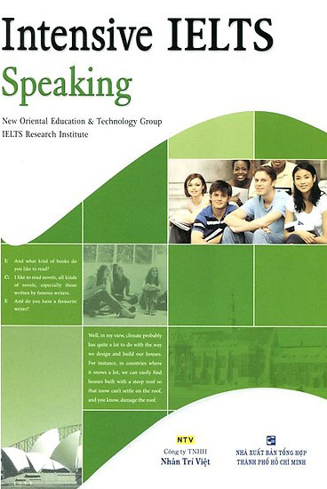 Cuốn Intensive IELTS Speaking