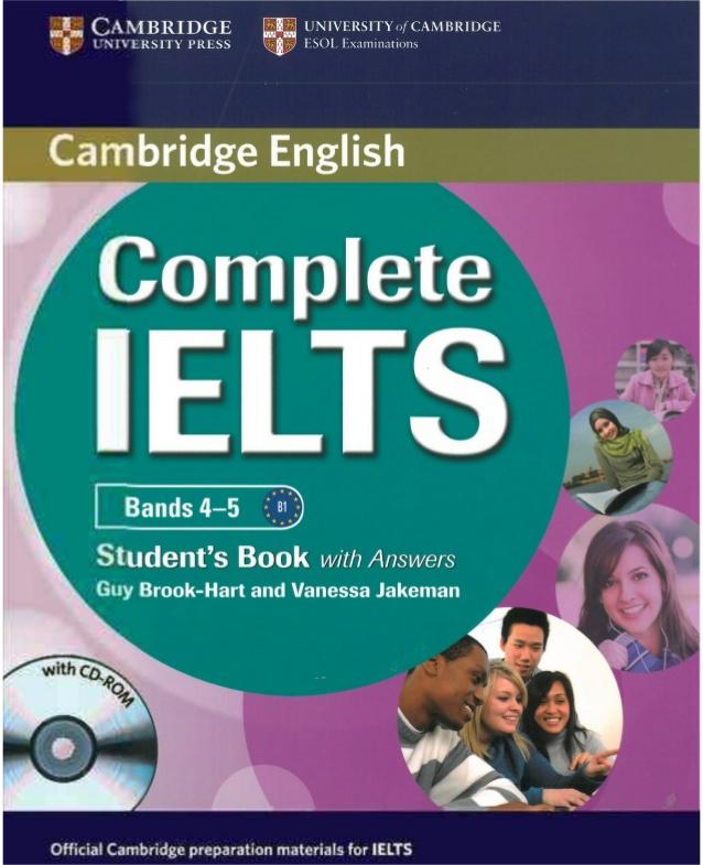 sách Complete IELTS band 4.0- 5.0