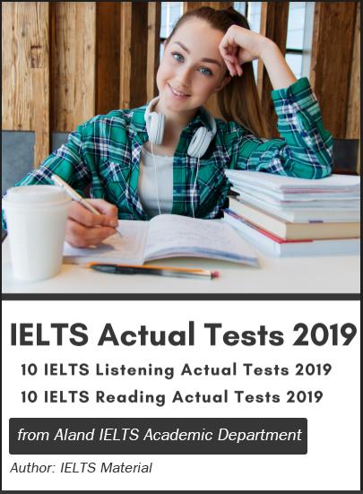 Trọn bộ đề thi thật IELTS Listening & Reading 2019