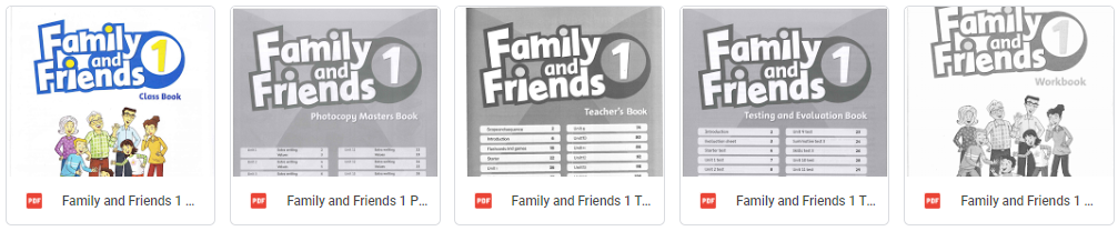 Family and Friends level 1