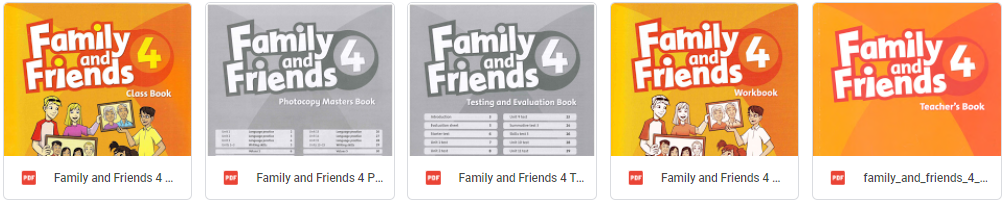 Family and Friends level 4