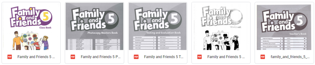 Family and Friends level 5