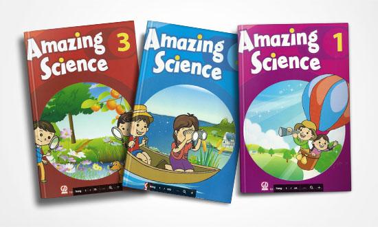 Trọn bộ Amazing Science 1, 2, 3